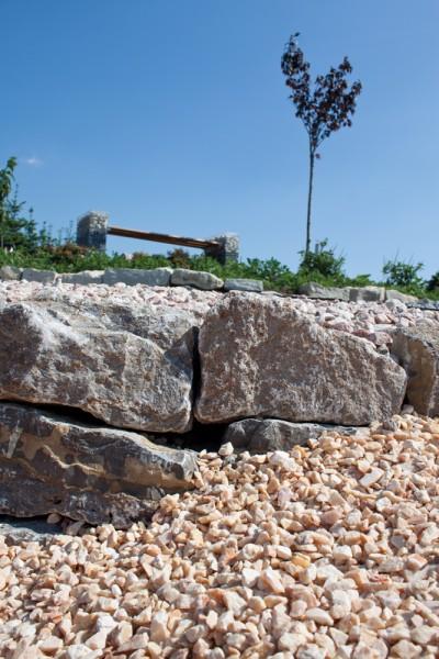 Mauerstein | Muschelkalk maschinengespalten | Maße 8-15 x 15-25 x 30-50 cm