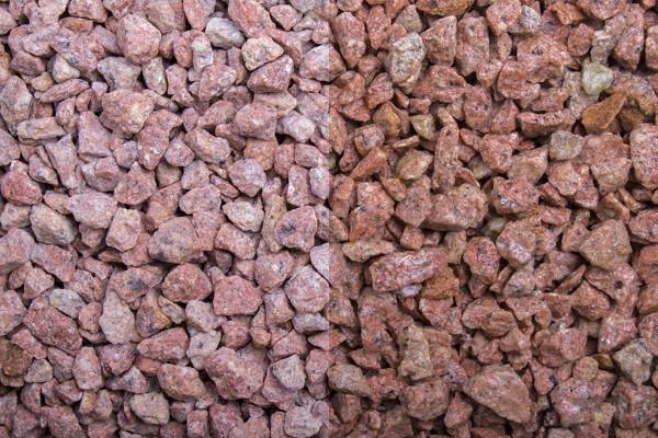Edelsplitt | Rosa Edelporphyr | Körnung 8-12 mm