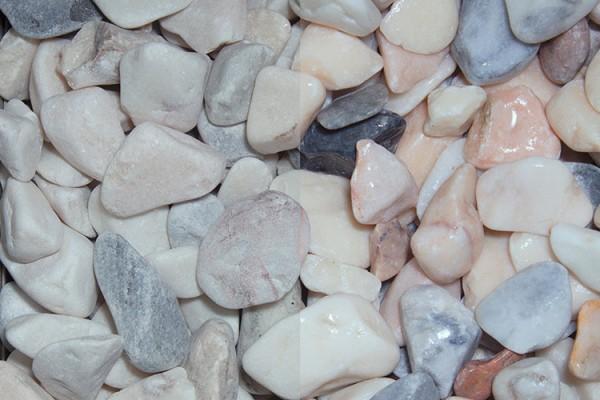 Naturstein getrommelt | Havanna | Körnung 20-40 mm