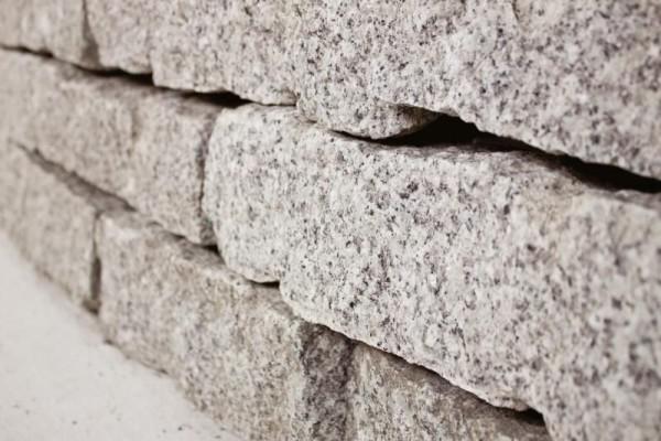 Mauerstein | Granit Mauerstein | Maße 10 x 20 x 40 cm