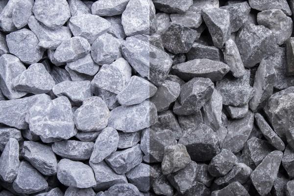 Edelsplitt   Ardennen Splitt grau   Körnung 7-14/14-22 mm