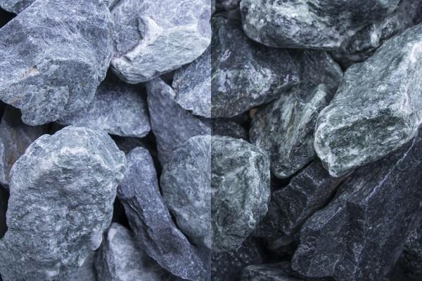 Steinschlag | Marmor Grün | Körnung 40-80 mm