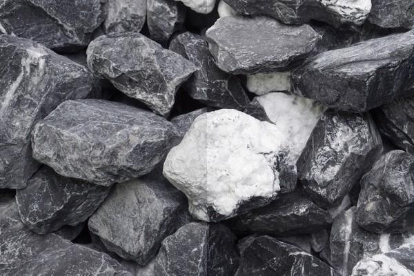 Steinschlag | Bianco Vena | Körnung 30-60 mm
