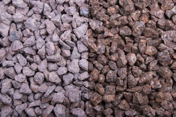 Edelsplitt | Roter Porphyr | Körnung 8-11 mm