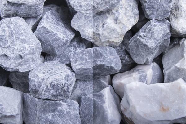 Steinschlag | Kristall Blau | Körnung 30-60 mm