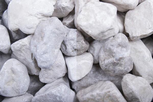 Steinschlag | Weißenbacher Creme Rondo | Körnung 32-45 mm