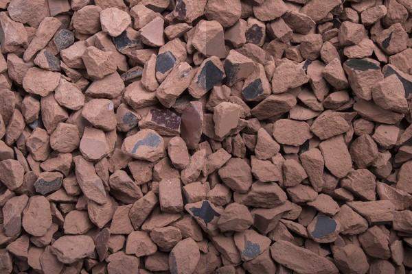Edelsplitt | Ziegel Splitt | Körnung 8-16 mm