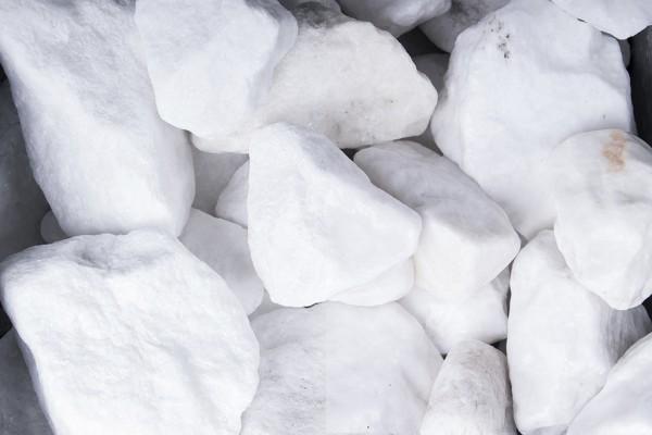 Steinschlag | Schneeweiss | Körnung 40-80 mm