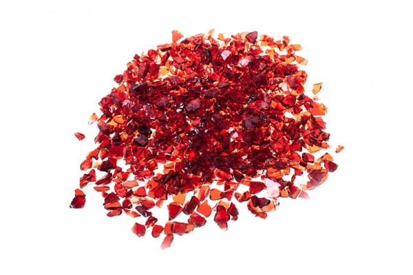 Glassplitt Red | Körnung 5-10 mm